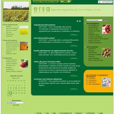 ERSA, Regional Agency for Rural Development