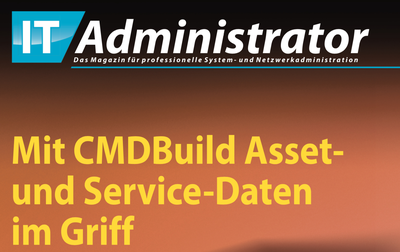 Keeping track of Assets and Services Data thanks to CMDBuild.  Everything registered.