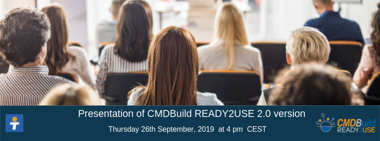 September 26th 2019 - CMDBuild READY2USE 2.0