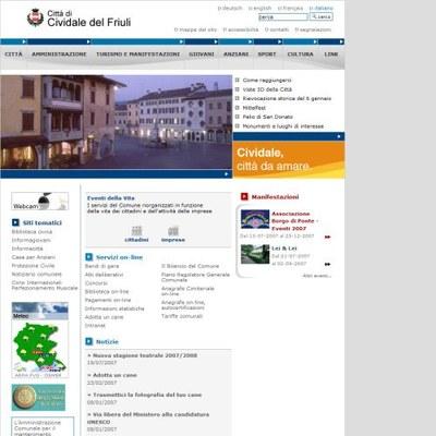 Sviluppo siti per Comuni