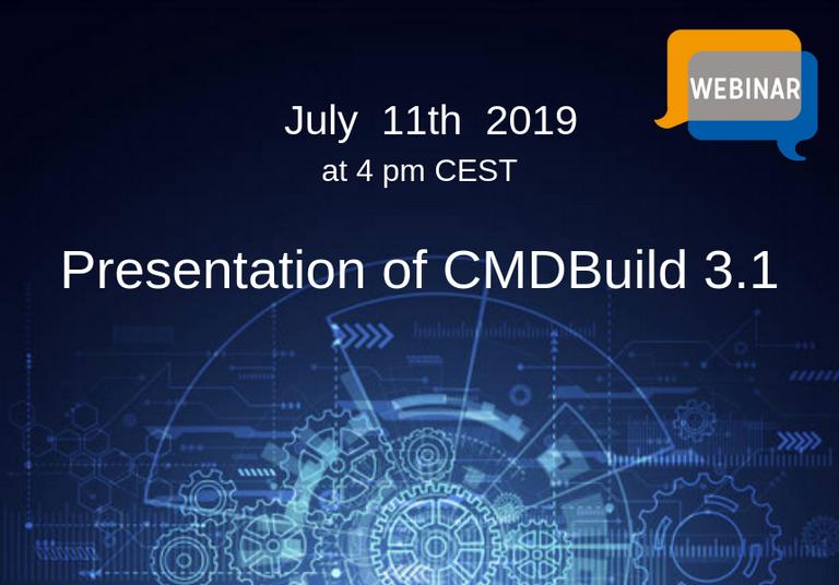 11 luglio 2019 - CMDBuild 3.1