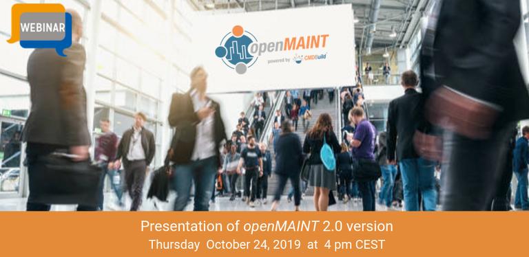 24 ottobre 2019 - openMAINT 2.0