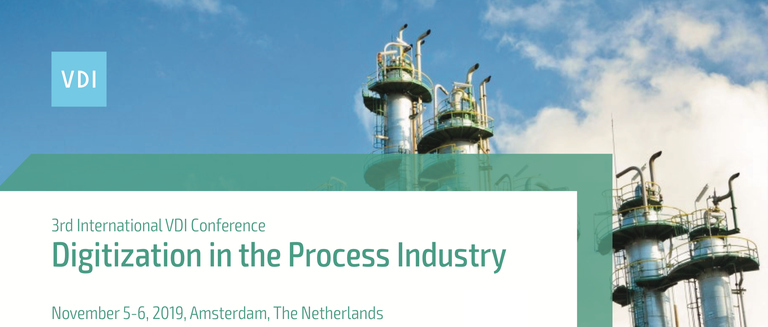 3rd International VDI Conference - Digitization in the Process Industry