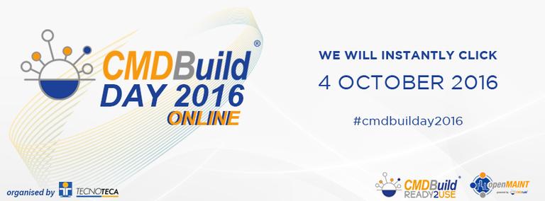 4 ottobre 2016 - CMDBuild DAY 2016